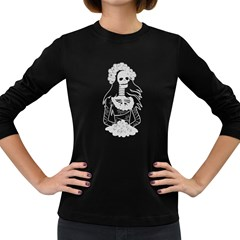 Day Of The Dead Women s Long Sleeve T-shirt (Dark Colored)