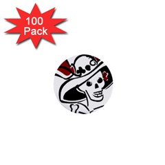 Day Of The Dead 1  Mini Button (100 pack)