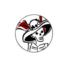 Day Of The Dead Golf Ball Marker 10 Pack (for Hat Clip)