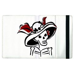 Day Of The Dead Apple iPad 3/4 Flip Case