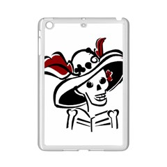 Day Of The Dead Apple iPad Mini 2 Case (White)