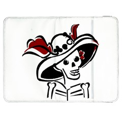 Day Of The Dead Samsung Galaxy Tab 7  P1000 Flip Case
