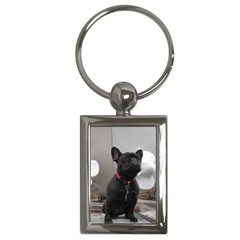 French Bulldog Key Chain (Rectangle)
