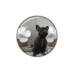 French Bulldog Golf Ball Marker 4 Pack (for Hat Clip)