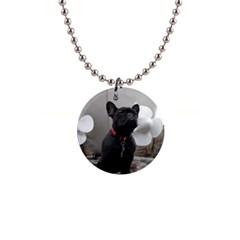 French Bulldog Button Necklace