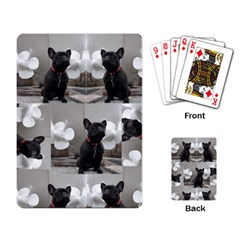 French Bulldog Playing Cards Single Design