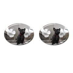 French Bulldog Cufflinks (Oval)
