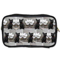 French Bulldog Travel Toiletry Bag (two Sides)