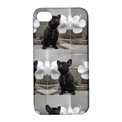 French Bulldog Apple Iphone 4/4s Hardshell Case With Stand