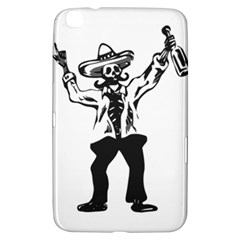 Day Of The Dead Samsung Galaxy Tab 3 (8 ) T3100 Hardshell Case