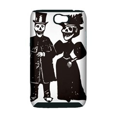 Day Of The Dead Samsung Galaxy Note 2 Hardshell Case (PC+Silicone)