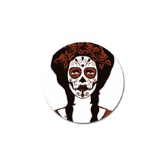 Day Of The Dead Golf Ball Marker 10 Pack