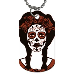 Day Of The Dead Dog Tag (Two-sided)