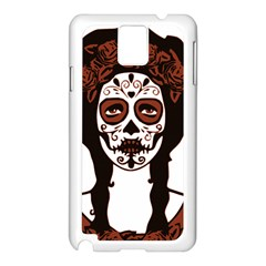 Day Of The Dead Samsung Galaxy Note 3 N9005 Case (White)