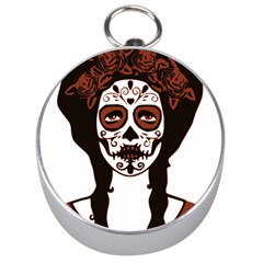 Day Of The Dead Silver Compass