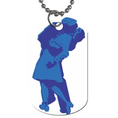 Kiss Dog Tag (One Sided)