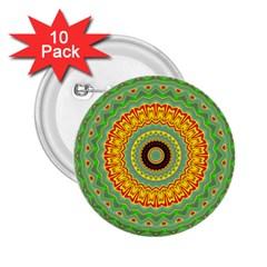 Mandala 2.25  Button (10 pack)