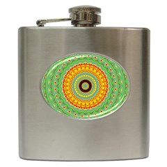 Mandala Hip Flask