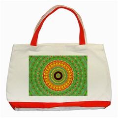 Mandala Classic Tote Bag (Red)