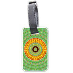Mandala Luggage Tag (One Side)