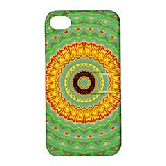 Mandala Apple Iphone 4/4s Hardshell Case With Stand