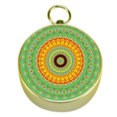 Mandala Gold Compass