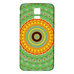 Mandala Samsung Galaxy S5 Back Case (white)