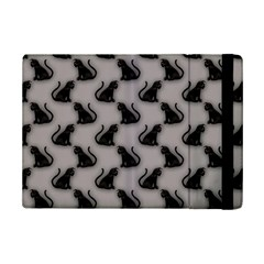 Black Cats on Gray Apple iPad Mini 2 Flip Case