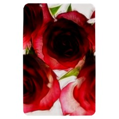 Pink and Red Roses on White Kindle Fire (1st Gen 2011) Hardshell Case