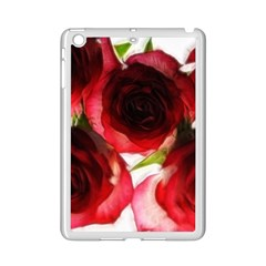Pink And Red Roses On White Apple Ipad Mini 2 Case (white)