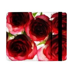Pink and Red Roses on White Samsung Galaxy Tab Pro 8.4  Flip Case
