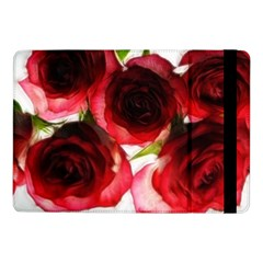 Pink and Red Roses on White Samsung Galaxy Tab Pro 10.1  Flip Case