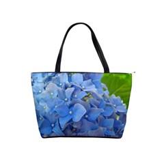 Blue Hydrangea Large Shoulder Bag