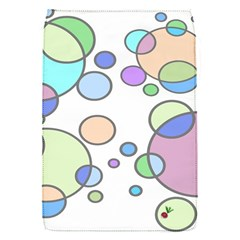 Circles - Bright Removable Flap Cover (Small)