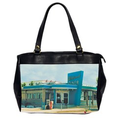Wildwood Diner Oversize Office Handbag (Two Sides)