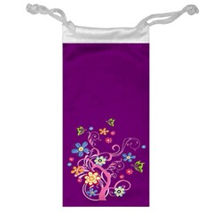 Flowery Flower Jewelry Bag