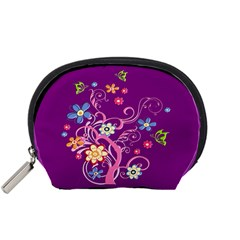 Flowery Flower Accessory Pouch (Small)