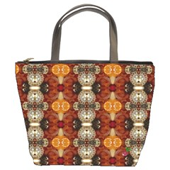 Jeweled Earth Bucket Handbag