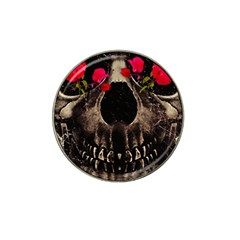 Death and Flowers Golf Ball Marker 4 Pack (for Hat Clip)