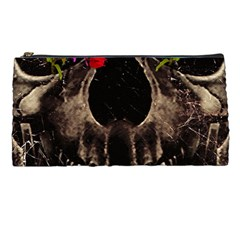 Death and Flowers Pencil Case