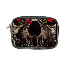 Death And Flowers Coin Purse