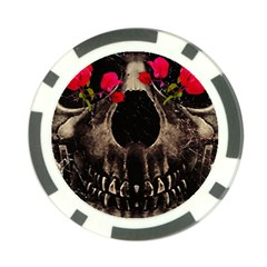 Death and Flowers Poker Chip (10 Pack)