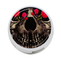 Death And Flowers 4 Port Usb Hub (one Side)