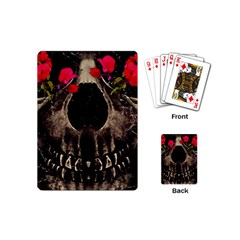 Death and Flowers Playing Cards (Mini)
