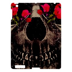 Death And Flowers Apple Ipad 3/4 Hardshell Case