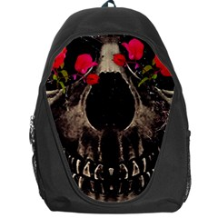 Death And Flowers Backpack Bag