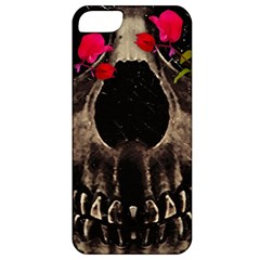 Death And Flowers Apple Iphone 5 Classic Hardshell Case