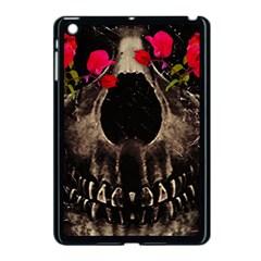 Death And Flowers Apple Ipad Mini Case (black)