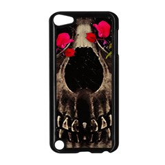 Death and Flowers Apple iPod Touch 5 Case (Black)