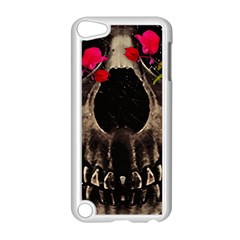 Death And Flowers Apple Ipod Touch 5 Case (white)